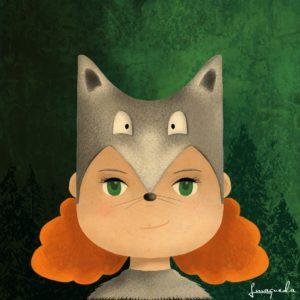 Lupita, the wolf girl